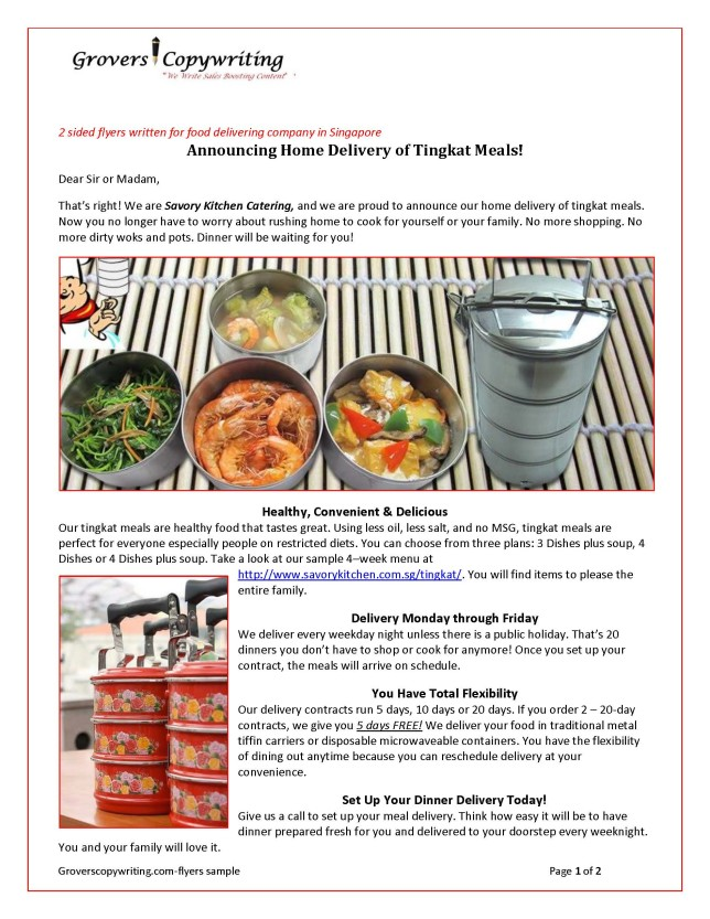 Flyers-Savory KitchenTingkat  Home Delivery_Page_1